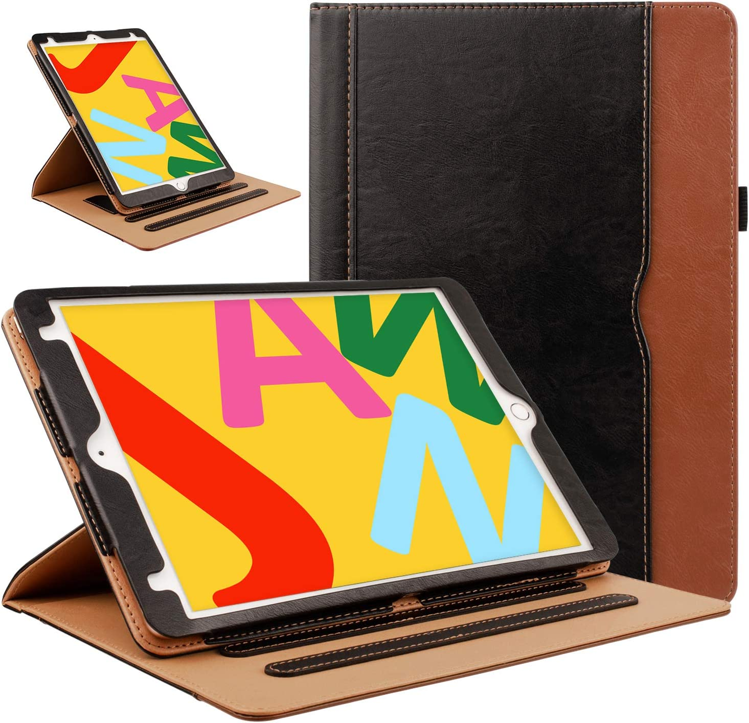 ZoneFoker Leather Case Max 67% OFF for New 8th New Orleans Mall 7th iPad Generation i