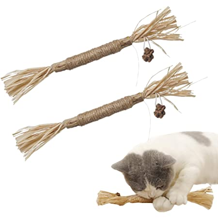 PAZ'S GIFT Catnip Toys, The cat Toys,Chew Sticks Cat Teeth Cleaning Chew Toy for, silvervine Sticks cat Cleaning Teeth, Make Your cat Feel Calm and Relaxed, cat chew Toy,Suitable for All Cats
