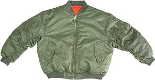 Sage Green MA-1 Military Flight Jacket, Air Force Bomber Pilot Jacket