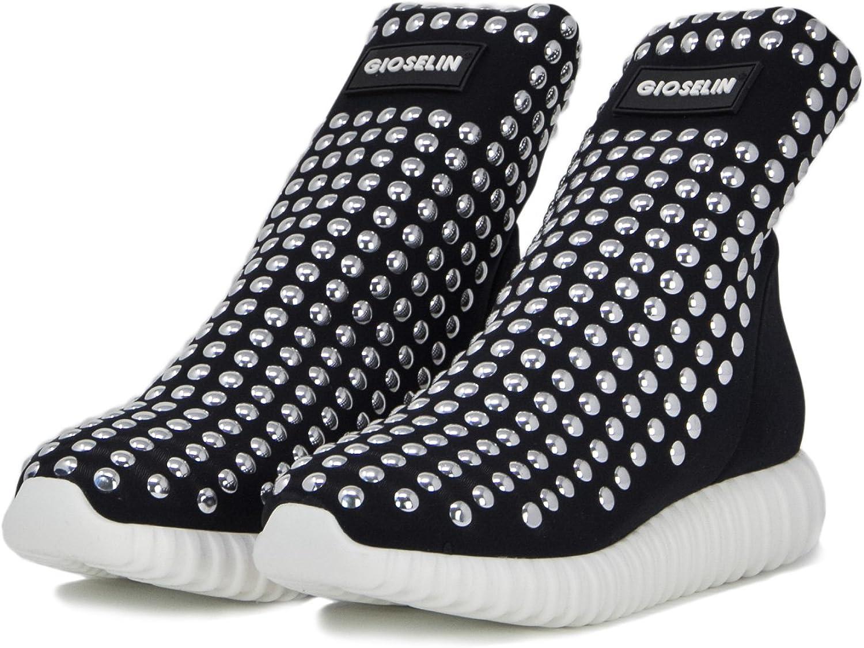 Gioselin Damen Schuhe Turnschuhe Light Studs