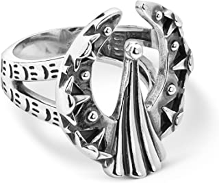 Sterling Silver Fritz Casuse Design Naja Ring Size 5 to 10