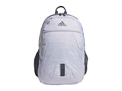 adidas Foundation V Backpack (Jersey White/Purple Tint/Onix/Grey) Backpack Bags