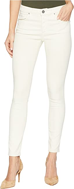 The Legging Ankle in Leatherette Light Chiffon