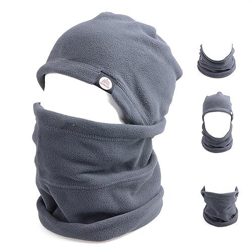 9632be153d2 TRIWONDER Balaclava Face Mask for Cold Weather Fleece Ski Mask Neck Warmer