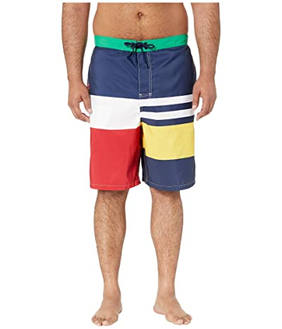 Polo Ralph Lauren Big & Tall Big Tall Kailua Swim Trunks (Boating Stripe) Men