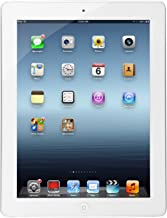 Apple iPad with Retina Display (32GB, Wi-Fi, White) 4th Generation (Renewed)
