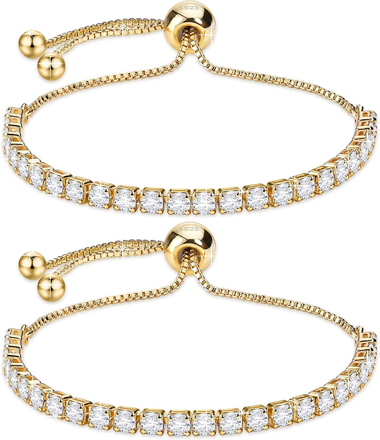 J.Fée Max 59% OFF Sterling Silver Bracelet Tennis S925 Spa with outlet