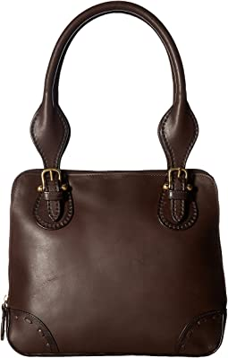 Brandy Multi-Compartment Handbag