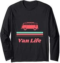 Vintage Mint & Coral Van Life  Long Sleeve T-Shirt