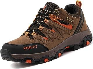 Lvptsh Scarpe da Trekking Donna Uomo Antiscivolo Scarpe da Escursionismo Scarponi da Montagna Traspiranti Passeggiate Stiv...