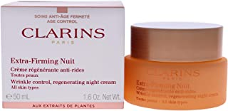 New Extra-Firming Night Rejuvenating Cream - All Skin Types by Clarins for Unisex - 1.7 oz Cream
