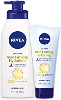NIVEA Skin Firming Variety Includes Skin Firming Lotion, Shea Butter, 6.7 Oz (Pack of 2)