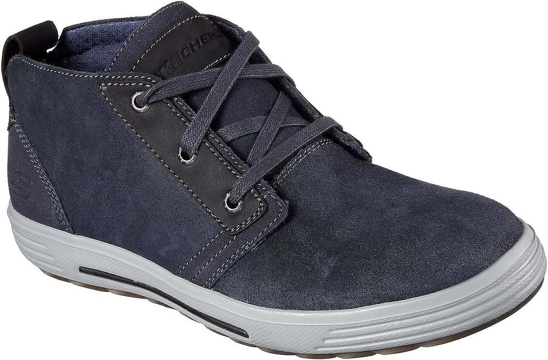 Skechers Porter-Malego Schuhe Herren Blau  | Ausgezeichnet