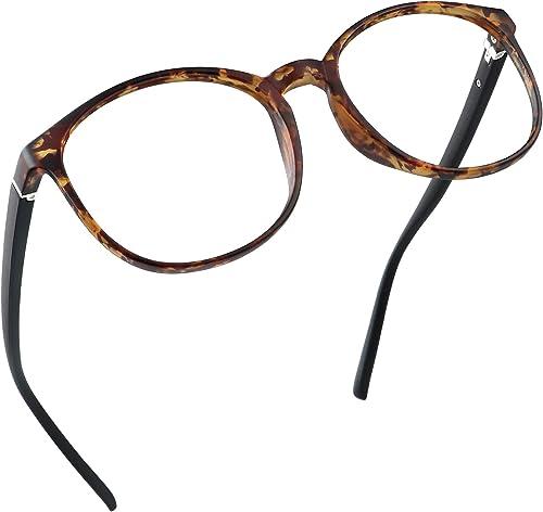 LifeArt Blue Light Blocking Glasses, Anti Eyestrain, Computer Reading Glasses, Gaming Glasses, TV Glasses for Women M...