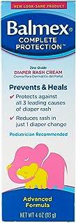 Balmex Diaper Rash Cream - 4 oz, Pack of 3