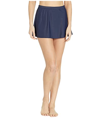 Miraclesuit Solid 19 Skirted Bottom (Midnight) Women