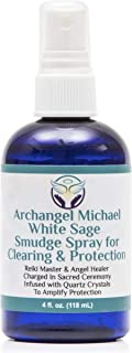Heal the Masses White Sage Spray: White Sage Smudge Spray for Clearing and Protection - Smokeless Liquid Smudging Spray  I...