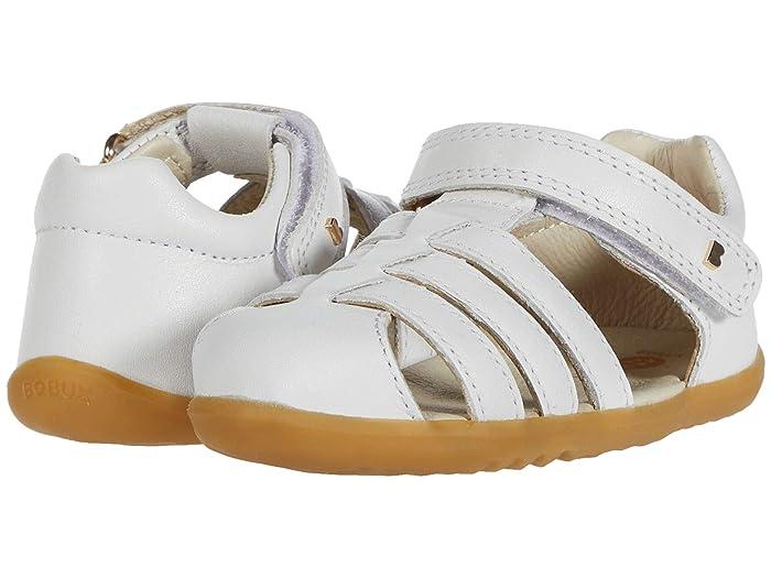 Bobux Kids  Step Up Jump (Infant/Toddler) (White) Kids Shoes