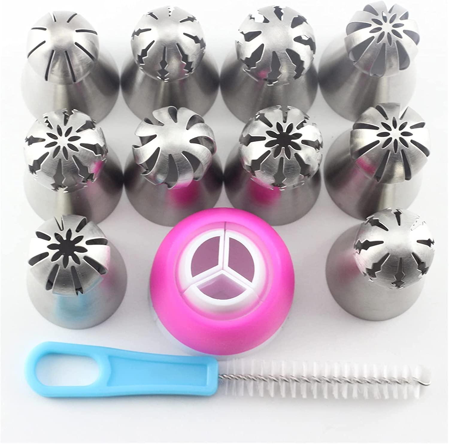 Piping Tips It is very popular 12Pcs Russian Pastry Al sold out. Sphere Ball N Icing
