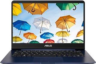 华硕 ZenBook UX430UA-GV415T 14 英寸纳?#22918;弒始?#26412;电脑(蓝色)- (Intel Core i7-8550U,8 GB 内存,256 GB 固态硬盘,Windows 10)
