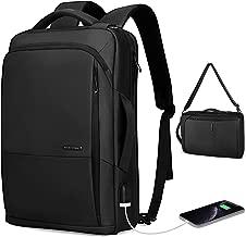 Markryden slim Laptop Backpack 3 in 1 backpack with USB Charging Port Water-Resistant School Travel Work Bag Fits 15.6 Inch Laptop