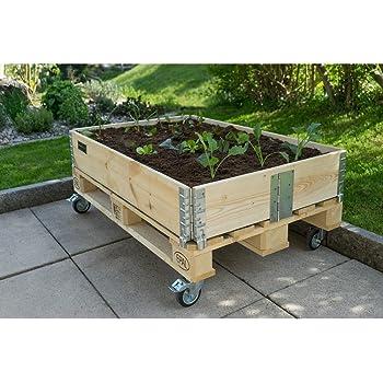 Schroth - Marco para jardinería, de suelo elevado, plegable, 120 x ...