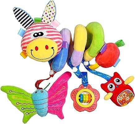 ★ Hei/ße Verk/äufer ★ Labebe Activity Spiral Baby Spielzeug Kinderwagen//Spiral Kind//Baby Spiral Set//Spiral Spielzeug Spiral//Baby//H/änge Spiral Rot /& Gelb Cute Kinderwagen Spielzeug mit Eule /& Giraffe f/ür Unisex Baby