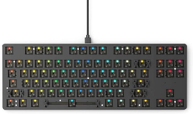 Glorious PC Gaming Race GMMK Compact Tastatur - Barebone, ANSI-L