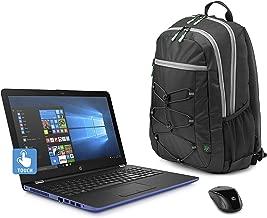 2018 HP Marine Blue Laptop Bundle, 15.6
