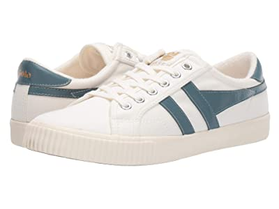Gola Tennis Mark Cox (Off-White/Indian Teal) Women