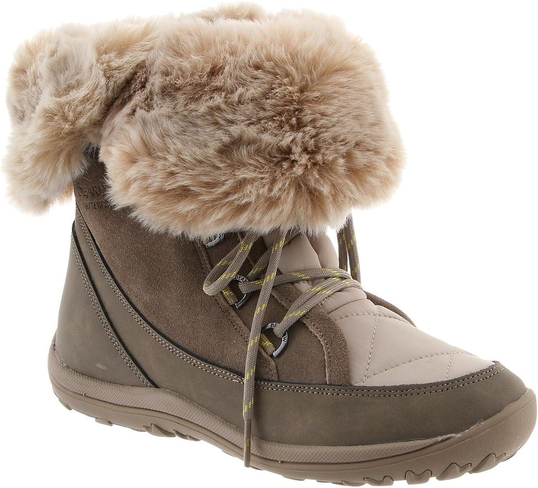 Bearpaw Womens Whitney Mid-Calf Fleece Lined Winter Boots