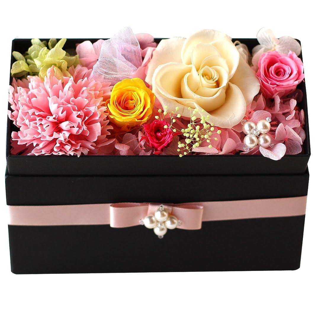 追記原点絶壁Azurosa(アズローザ) プリザーブドフラワー ギフト ボックス 枯れない花 フレグランスソープ ミックスカラー