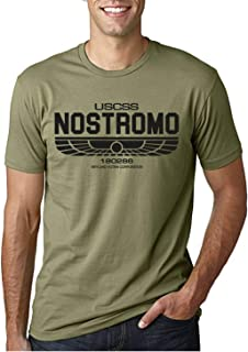 Desconocido USCSS Nostromo - Camiseta Ciencia ficcion para Hombre