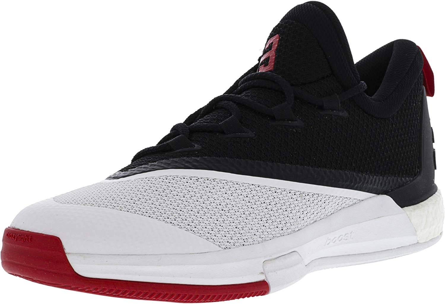 192c97833 Adidas Men's Crazylight Crazylight Crazylight Boost 2.5 Core Black Scarlet  Footwear White Ankle-High Basketball shoes - 10.5M e9238d
