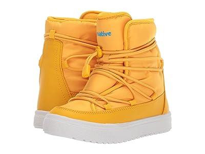 Native Kids Shoes Chamonix (Little Kid) (Alpine Yellow/Shell White) Kids Shoes