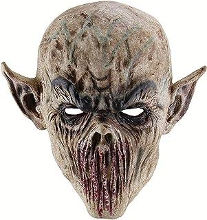 Amosfun Alloween Maschera di Paura Forcella Maschera del Mostro Orc Horror Zombie Maschera Sanguinosa Mostro Maschere di H...