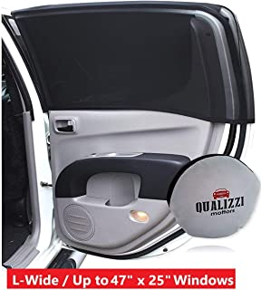 L-Wide/Car Sun Shades That Fit Most SUV's Windows Up to 45 x 23 in. at Maximum Stretch