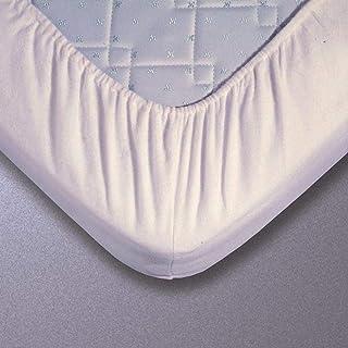 Prot/ège Traversin Taie Traversin Molleton Bio 022X140 Blanc Fabrication Fran/çaise