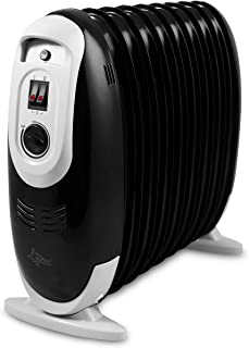 Suntec Wellness Heat Safe Compact 1200 Black Radiador, Aluminio, Negro
