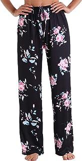 Unisex Cotton Sleepwear Sleep Pants Loungewear Pajama Pants Graffiti Print Long Leisure Pants Pajama Pants with Pockets Wi...