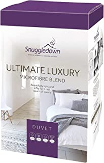 Snuggledown Edredón nórdico Luxury Ultimate, algodón, Blanco, Matrimonio