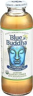 Blue Buddha, Wellness Tea Lemon Elderflower Organic, 14 Fl Oz
