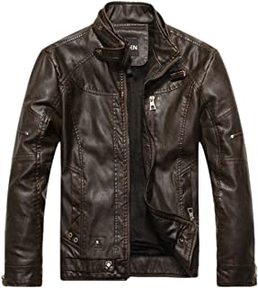 cba01e53746 Amazon.com: XL - Leather & Faux Leather / Jackets & Coats: Clothing ...