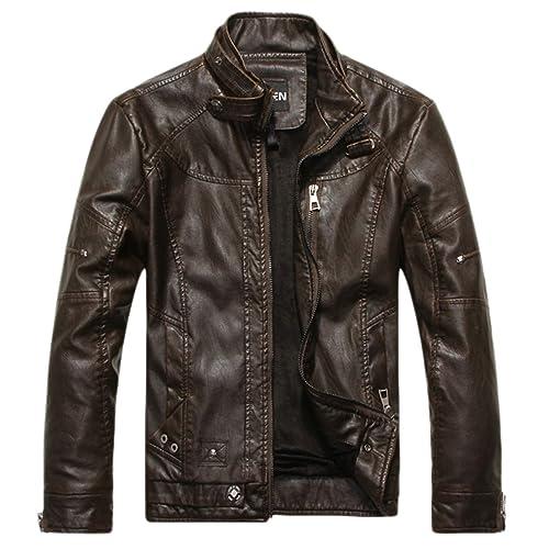 2edcd98979 Leather Jacket: Amazon.com