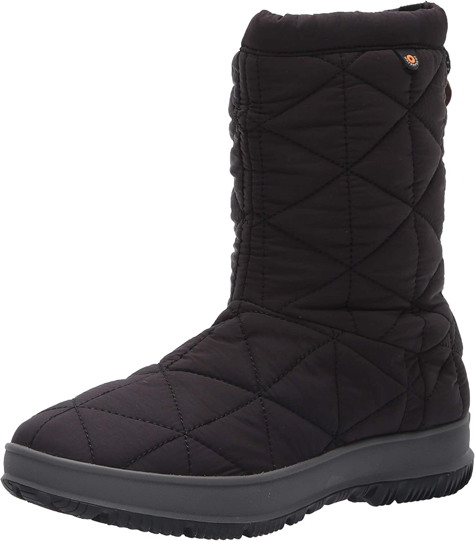 BOGS Women's Snowday Mid Waterproof Insulated Winter Snow Boot