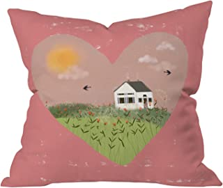 """Deny Designs Joy Laforme A Gift for My Love Outdoor Throw Pillow, 16"""" x 16"""""""
