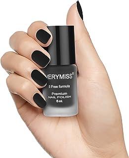 Verymiss Premium Matte Nail Polish 6ml - Black