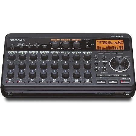Tascam DP-008EX 8-Track Digital Pocketstudio Multi-Track Audio Recorder,Black