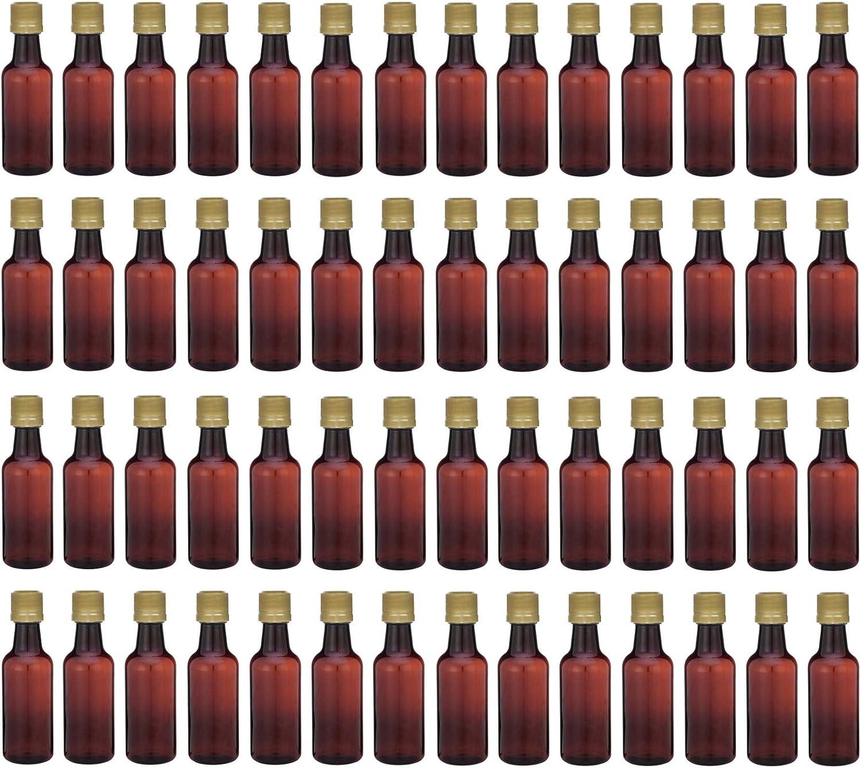 Pellah 50 ml 1.7 Oz. Premium Quality 未使用 Amber Small Pla ☆国内最安値に挑戦☆ PET Round