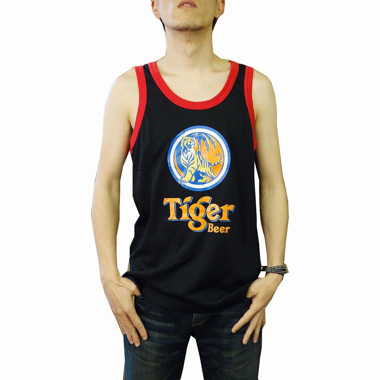 タンクトップ Tiger Beer(タイガービール) Aタイプ ブラック